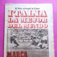 Coleccionismo deportivo: DIARIO MARCA ITALIA CAMPEON MUNDIAL ESPAÑA 82 - ITALY WINNER FIFA WORLD CUP 1982 WC GERMANY ROSSI. Lote 257942820