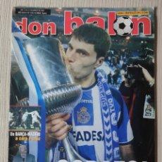 Coleccionismo deportivo: DON BALÓN Nº 1378 - AÑO 2002. POSTER DEPORTIVO CAMPEÓN COPA. Lote 258079050