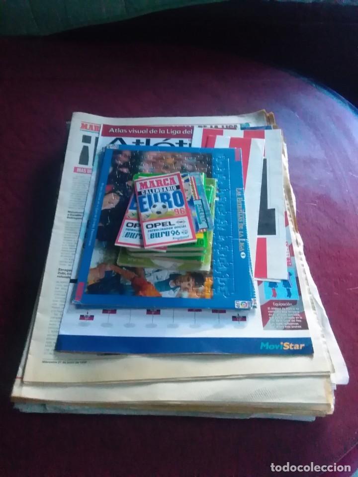 LOTE DE FÚTBOL,PERIÓDICOS MARCA, ATLAS ATLÉTICO 2000, PUZZLES,JUGADOR NUMERO 12,DON BALÓN CALENDARIO (Coleccionismo Deportivo - Revistas y Periódicos - Marca)