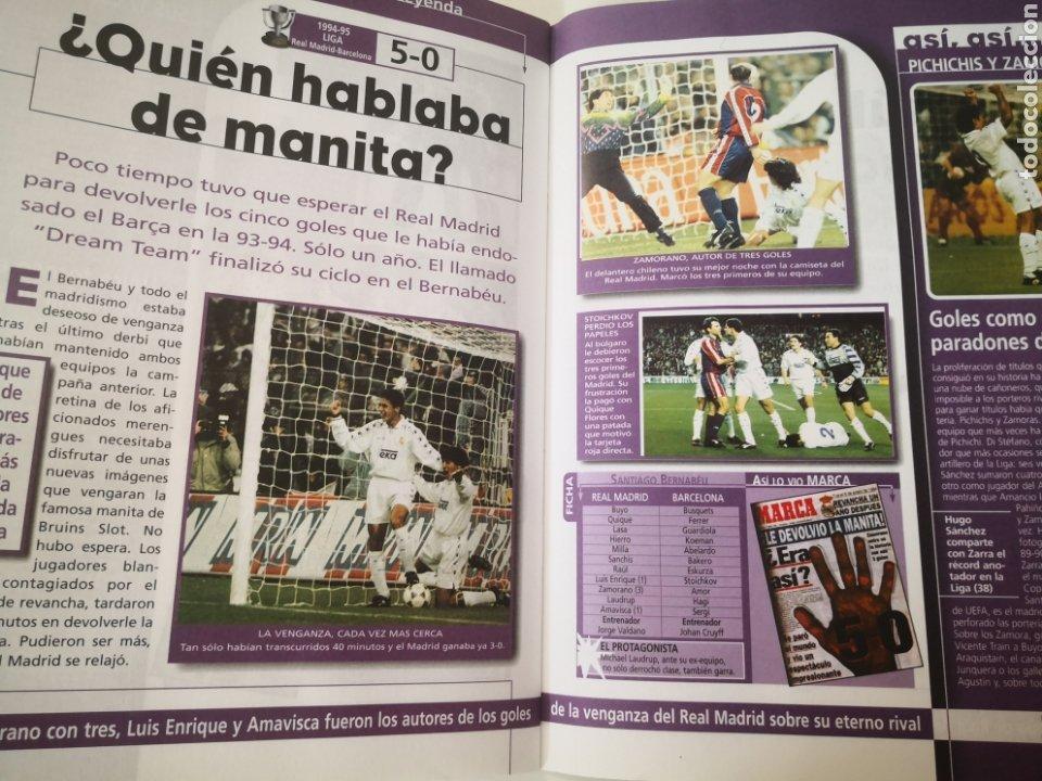 Coleccionismo deportivo: REAL MADRID - LOS 20 PARTIDOS DE LEYENDA BLANCA. EL MEJOR EQUIPO DEL MUNDO. DIARIO MARCA - Foto 3 - 259210330