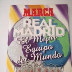 Coleccionismo deportivo: REAL MADRID - LOS 20 PARTIDOS DE LEYENDA BLANCA. EL MEJOR EQUIPO DEL MUNDO. DIARIO MARCA. Lote 259210330