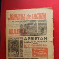Colecionismo desportivo: LOTE DE PERIODICOS ANTIGUOS DE LA MARCA AÑOS 1979. Lote 259854830