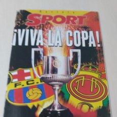 Coleccionismo deportivo: DIARIO SPORT VIVA LA COPA - REVISTA. Lote 260496185