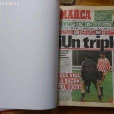 Colecionismo desportivo: DIARIO MARCA MES DE NOVIEMBRE 1994 - AÑO. Lote 260684365