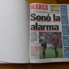 Colecionismo desportivo: DIARIO MARCA MES DE OCTUBRE 1995 - AÑO. Lote 260684725