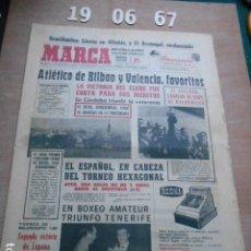 Coleccionismo deportivo: DIARIO MARCA 19 DE JUNIO DE 1967. Lote 261161640