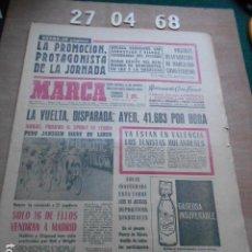 Coleccionismo deportivo: DIARIO MARCA 27 DE ABRIL DE 1968. Lote 261161760