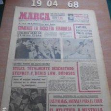 Coleccionismo deportivo: DIARIO MARCA 19 DE ABRIL DE 1968. Lote 261162030