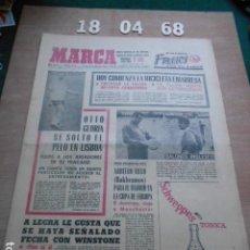 Coleccionismo deportivo: DIARIO MARCA 18 DE ABRIL DE 1968. Lote 261162140