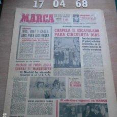 Coleccionismo deportivo: DIARIO MARCA 17 DE ABRIL DE 1968. Lote 261162240