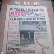 Coleccionismo deportivo: DIARIO MARCA 4 DE ABRIL DE 1968. Lote 261162345