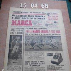Coleccionismo deportivo: DIARIO MARCA 15 DE ABRIL DE 1968. Lote 261162445