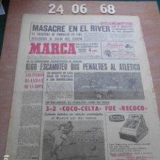 Coleccionismo deportivo: DIARIO MARCA 24 DE JUNIO DE 1968. Lote 261162570