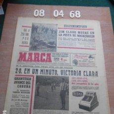 Coleccionismo deportivo: DIARIO MARCA 8 DE ABRIL DE 1968. Lote 261162790