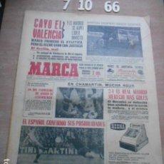 Coleccionismo deportivo: DIARIO MARCA 7 OCTUBRE DE 1966. Lote 261162965