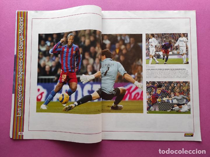 Coleccionismo deportivo: REVISTA SUPLEMENTO MUNDO DEPORTIVO ESPECIAL MEJORES IMAGENES EL CLASICO BARÇA-REAL MADRID - Foto 2 - 261173480
