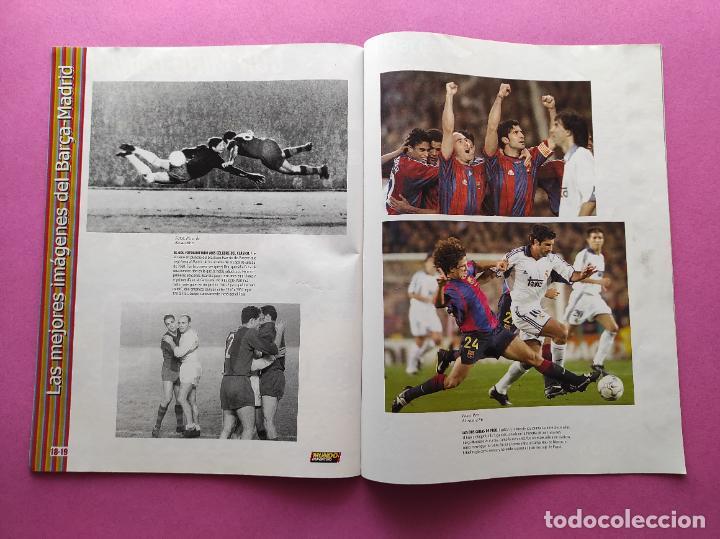 Coleccionismo deportivo: REVISTA SUPLEMENTO MUNDO DEPORTIVO ESPECIAL MEJORES IMAGENES EL CLASICO BARÇA-REAL MADRID - Foto 3 - 261173480