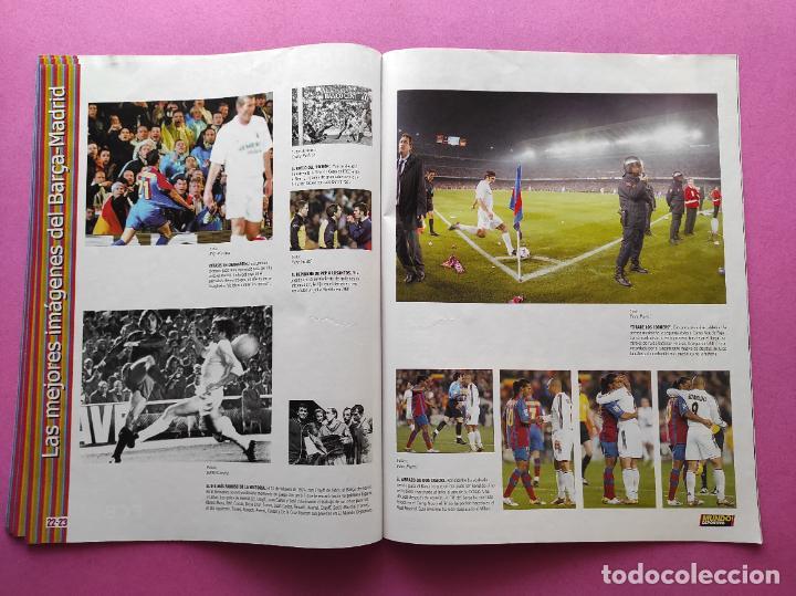 Coleccionismo deportivo: REVISTA SUPLEMENTO MUNDO DEPORTIVO ESPECIAL MEJORES IMAGENES EL CLASICO BARÇA-REAL MADRID - Foto 4 - 261173480