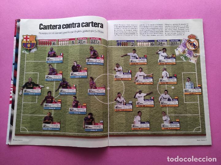 Coleccionismo deportivo: REVISTA SUPLEMENTO MUNDO DEPORTIVO 2009 ESPECIAL EL CLASICO BARÇA-REAL MADRID 09/10 PARTIDO SIGLO - Foto 3 - 261174515