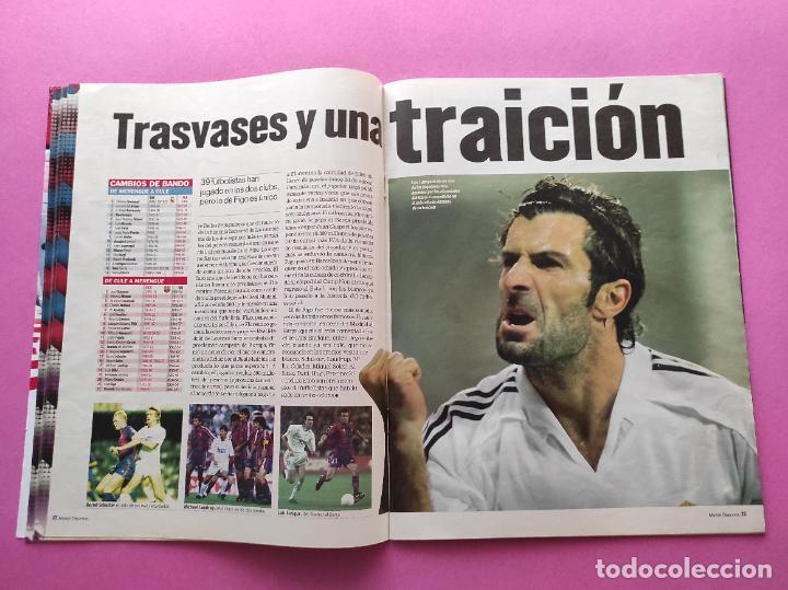 Coleccionismo deportivo: REVISTA SUPLEMENTO MUNDO DEPORTIVO 2009 ESPECIAL EL CLASICO BARÇA-REAL MADRID 09/10 PARTIDO SIGLO - Foto 4 - 261174515