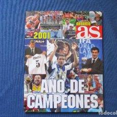 Coleccionismo deportivo: AS ANUARIO 2001 AÑO DE CAMPEONES - ENERO 2002. Lote 261180235