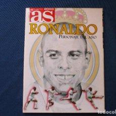 Coleccionismo deportivo: AS ANUARIO 2003 RONALDO PERSONAJE DEL AÑO - ENERO 2003. Lote 261181680