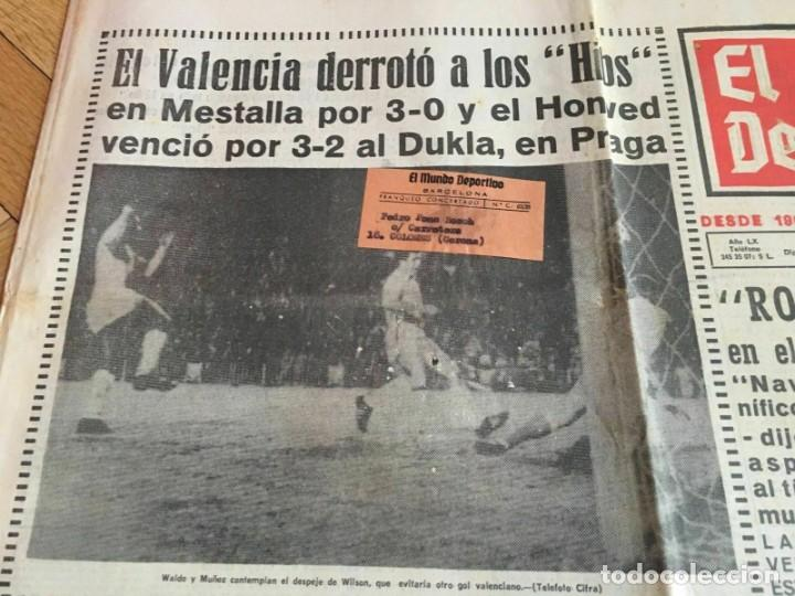 Coleccionismo deportivo: PERIODICO MUNDO DEPORTIVO (4-11-1965) Inter-Cities Fairs Cup 1965 1966 Valencia Hibernian Football - Foto 2 - 261198095