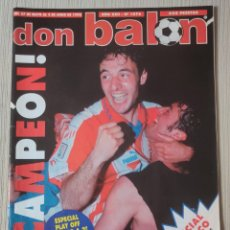 Coleccionismo deportivo: DON BALÓN Nº 1076 - AÑO 1996. POSTER ATLETICO CAMPEÓN COPA. Lote 261202285