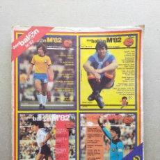 Colecionismo desportivo: REVISTA DON BALON. M82, MUNDIAL 82 - TOMO CON REVISTAS EXTRAS Nº 1, 2, 3 Y 4 - MUNDIAL ESPAÑA 1982. Lote 261205040