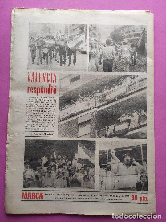 Coleccionismo deportivo: DIARIO MARCA MUNDIAL 82 ESPAÑA 1-1 HONDURAS FIFA WORLD CUP 1982 WC ALGERY ENGLAND FRANCE - Foto 2 - 261326585