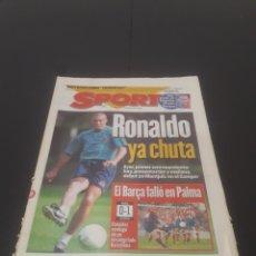 Coleccionismo deportivo: SPORT N° 6034. 19 DE AGOSTO 1996.. Lote 261354140