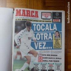 Colecionismo desportivo: DIARIO MARCA MES DE NOVIEMBRE 1995 - AÑO. Lote 261354545