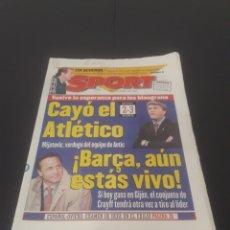 Coleccionismo deportivo: SPORT N° 5921. 28 DE ABRIL 1996.. Lote 261356600