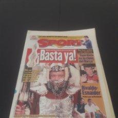 Coleccionismo deportivo: SPORT N° 6415. 7 DE SEPTIEMBRE 1997.. Lote 261364640