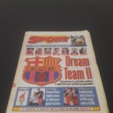 Coleccionismo deportivo: SPORT N° 6006. 22 DE JULIO 1996.. Lote 261365490