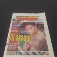 Coleccionismo deportivo: SPORT N° 6519. 20 DE DICIEMBRE 1997.. Lote 261395210