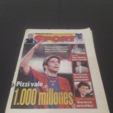 Coleccionismo deportivo: SPORT N° 6515. 16 DE DICIEMBRE 1997.. Lote 261456840