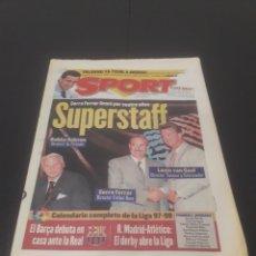 Coleccionismo deportivo: SPORT N° 6365. 19 DE JULIO 1997.. Lote 261520010