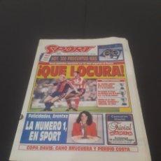 Coleccionismo deportivo: SPORT N° 5476. 4 DE FEBRERO 1995.. Lote 261552610