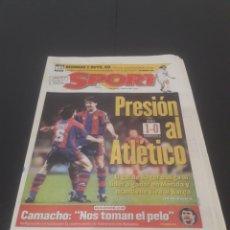 Coleccionismo deportivo: SPORT N° 5880. 17 DE MARZO 1996.. Lote 261555860