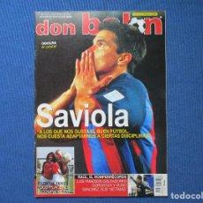 Coleccionismo deportivo: DON BALÓN N.º 1473 - 2003 NO INCLUYE PÓSTER CENTRAL. Lote 261556450