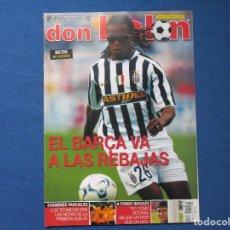 Coleccionismo deportivo: DON BALÓN N.º 1474 - 2004 NO INCLUYE PÓSTER CENTRAL. Lote 261556760