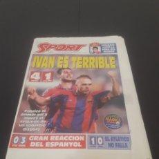Coleccionismo deportivo: SPORT N° 5728. 15 D3 OCTUBRE 1995.. Lote 261556785