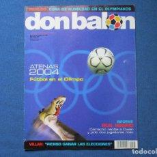 Coleccionismo deportivo: DON BALÓN N.º 1505 - 2004. Lote 261557060