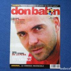 Coleccionismo deportivo: DON BALÓN N.º 1513 - 2004 NO INCLUYE PÓSTER CENTRAL. Lote 261558430