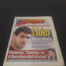 Coleccionismo deportivo: SPORT N° 6153. 16 DE DICIEMBRE 1996.. Lote 261558440