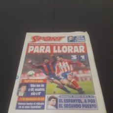 Coleccionismo deportivo: SPORT N° 5784. 10 DE DICIEMBRE 1995.. Lote 261559850