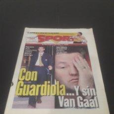 Coleccionismo deportivo: SPORT N° 6491. 22 DE NOVIEMBRE 1997.. Lote 261632550