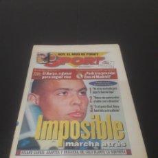 Coleccionismo deportivo: SPORT N° 6317. 1 DE JUNIO 1997.. Lote 261632960