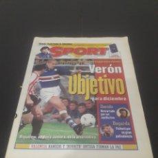 Coleccionismo deportivo: SPORT N° 6488. 19 DE NOVIEMBRE 1997.. Lote 261633930